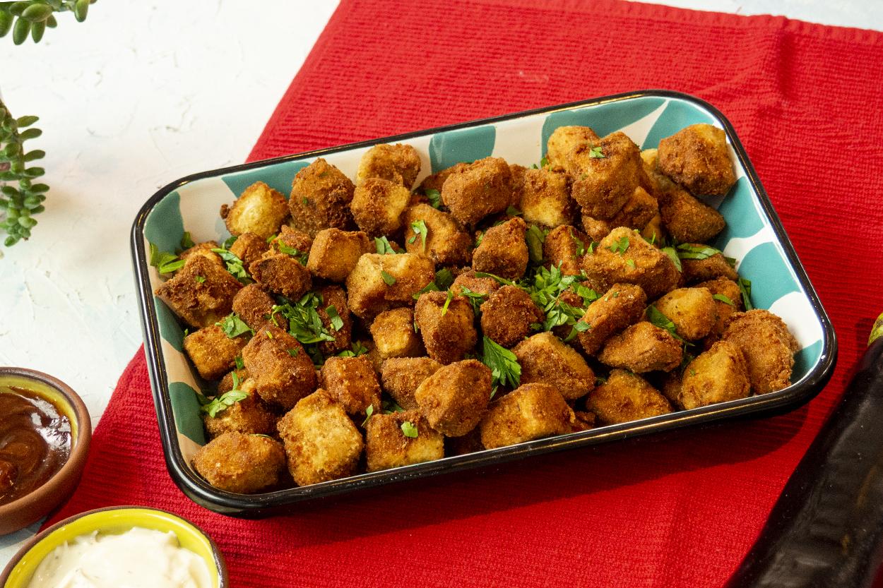 Nugget Görünümlü Patlıcan Tarifi