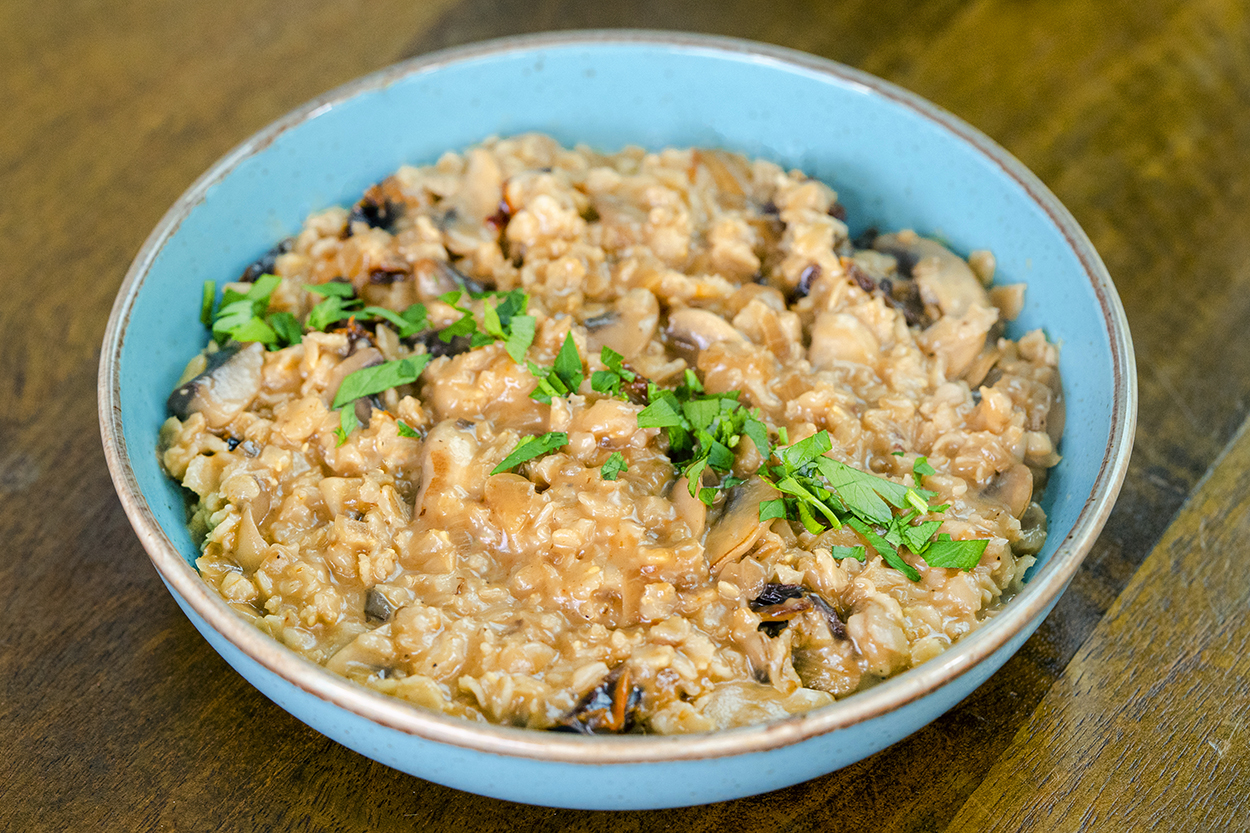 Mantarlı Porridge Tarifi