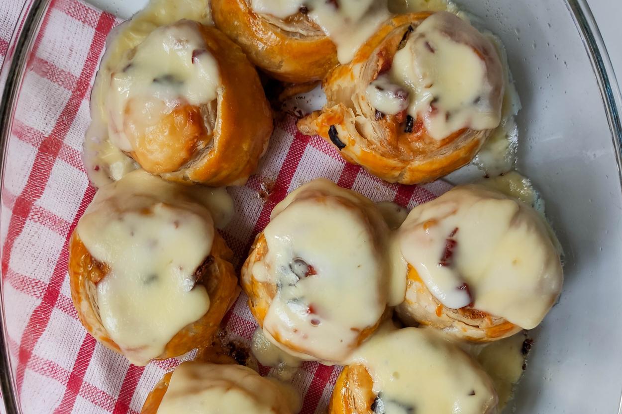 Mini Pizza Roll Tarifi