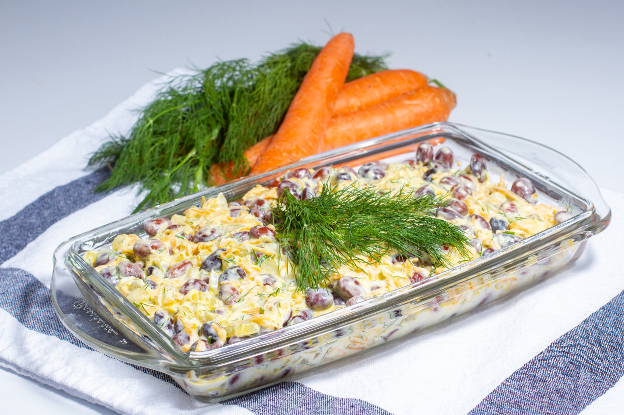 Yoğurtlu Barbunya Salatası Tarifi