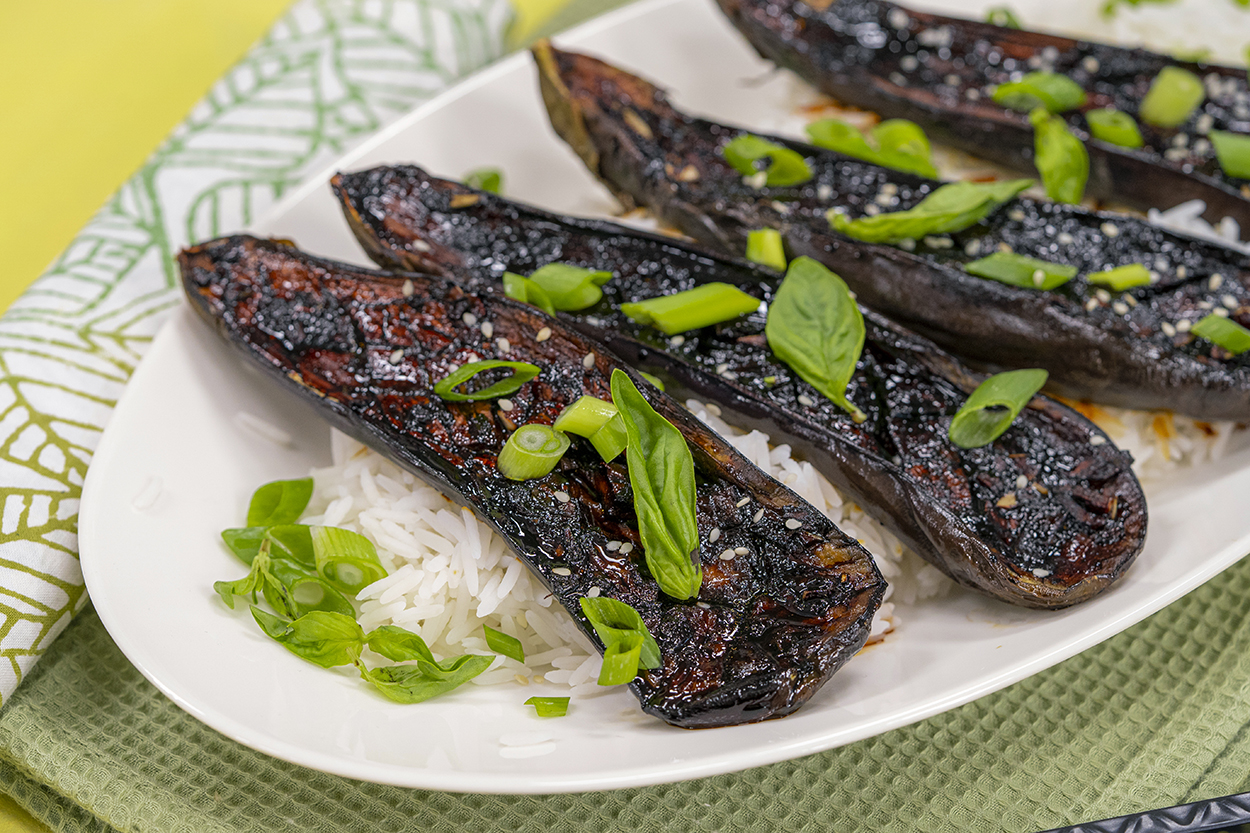 Asya Usulü Patlıcan Tarifi
